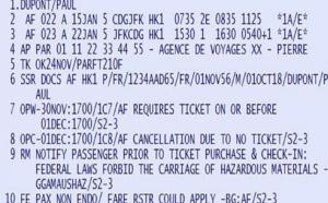 PNR : encore une galère pour les agences avant l'émission d'un billet