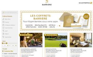 Barrière lance un site Internet pour la vente de ses coffrets et chèques cadeaux