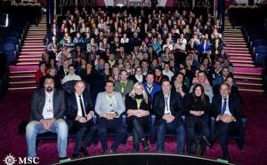 Verdié Voyages embarque ses 200 collaborateurs à bord du MSC Orchestra