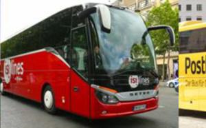 Autocars : partenariat entre Eurolines, isilines et Postbus