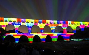 Le Pont du Gard bat son nouveau record annuel de fréquentation en 2015