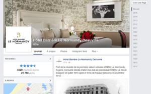 Normandy Collector : Barrière fait gagner des objets de son hôtel mythique sur Facebook