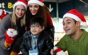 Air Transat, ADP : le Père Noël rejoint 50 enfants malades en plein vol !