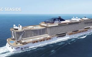 Caraïbes : MSC Croisières ouvre les ventes pour le nouveau MSC Seaside