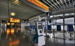 Un robot pour guider les voyageurs à l'aéroport d'Amsterdam-Schiphol