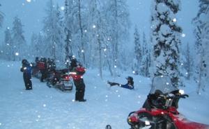 J'ai testé pour vous... une balade à motoneige en Laponie finlandaise