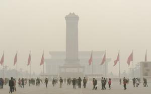 Pékin : nouvelle alerte rouge à la pollution