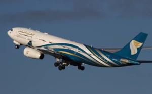 Oman Air passe de 5 à 6 vols hebdo entre Paris et Mascate cet été