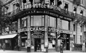Kuoni : Nice 1923, première succursale française