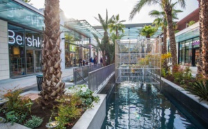Cagnes-sur-Mer (French Riviera): the Polygone Riviera, new shopping center with a revolutionary concept