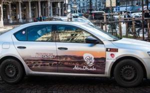 Abu Dhabi habille les taxis parisiens