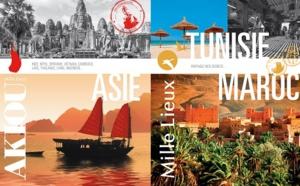 Mille-Lieux et Akiou : les brochures 2016 distribuées en agences de voyages