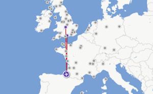 Flybe : vols Biarritz-Southampton dès le 3 juillet 2016