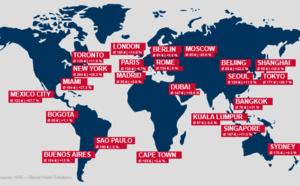 Hôtellerie : les tarifs grimpent partout dans le monde en 2015... sauf à Paris