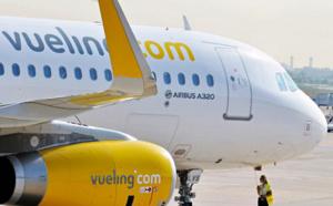 Vueling : trafic passagers en hausse de 15 % en 2015