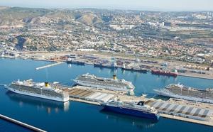 Marseille : la croisière assure la croissance de l'activité passagers en 2015
