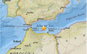 Méditerranée : séisme de magnitude 6.1 entre l'Espagne et le Maroc