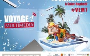 Voyage en Multimédia : séduction, expérience client et mobilité, les leviers de #VEM7