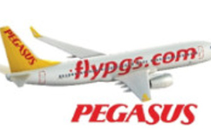Pegasus Airlines : 22,34 millions de passagers (+13,2 %) en 2015