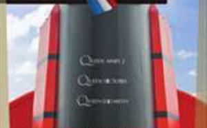 Cunard sort un dépliant pour ses croisières avec encadrement francophone