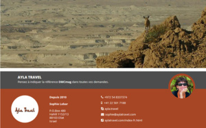 Israel : Ayla Travel rejoint DMCMag.com