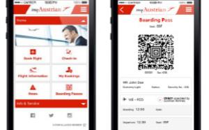 Austrian Airlines lance sa nouvelle application mobile myAustrian
