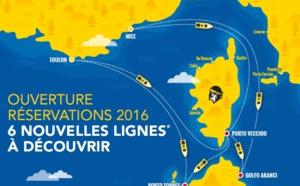 Eté 2016 : Corsica Ferries ouvre Porto Vecchio pour rejoindre la Sardaigne