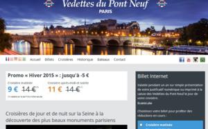 France Tourisme rachète le groupe des Vedettes du Pont Neuf