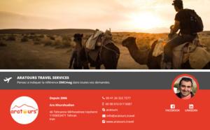ARATOURS Travel Services débarque sur DMCMag.com