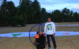 République Dominicaine : un vol en para-moteur pour inaugurer 2 hôtel Viva Wyndham V