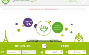 Thalys lance Izy, des trains lowcost à 19€ entre Paris et Bruxelles