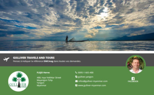 Myanmar : DMCMag.com accueille Gulliver Travels and Tours