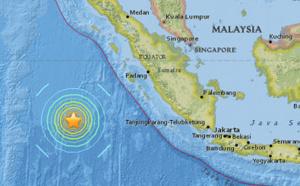 Indonésie : séisme de magnitude 7.9 au large de Sumatra