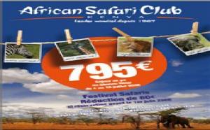 African Safari Club publie sa nouvelle brochure été/Automne 2008