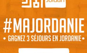 #MaJordanie : jeu-concours en ligne de l'OT de Jordanie pendant 3 semaines