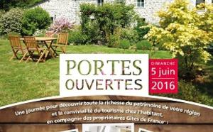 Gîtes de France : journée portes ouvertes nationale le 5 juin 2016
