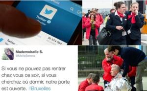 Attentats à Bruxelles : place à la solidarité sur les réseaux sociaux