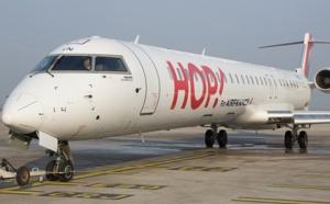 Hop!: +3 % de passagers entre Caen et Lyon en 2015