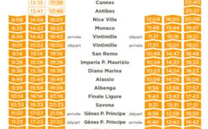 Thello : nouvel horaire pour la ligne Marseille-Milan dès le 4 juillet 2016
