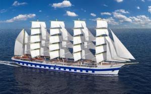 Star Clippers : le Flying Clipper, le plus grand navire du monde à voiles carrées, prendra la mer début 2018