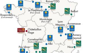Choice Hotels France : CA en hausse de 4,41 % en 2015