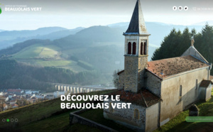 Beaujolais Vert Tourisme modernise son site Internet