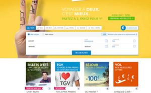Voyages-sncf.com : 10 millions d'euros pour gagner la bataille du rail