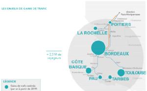 TGV Atlantique 2017 : Paris à 2h de Bordeaux dès le 2 juillet