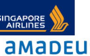 Amadeus : Singapore Airlines adopte la solution Altéa Revenue Management
