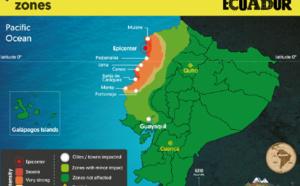 Séisme Equateur : les infrastructures touristiques épargnées dans la majeure partie du pays