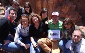 Asia en éductour en Jordanie