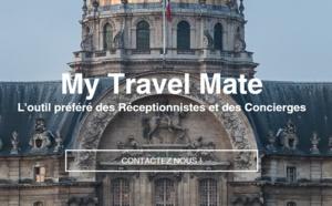 My Travel Mate propose l'e-conciergerie gratuite pour les hôtels