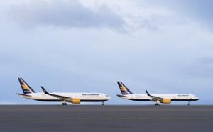 Icelandair met en service 2 Boeing B767 et augmente sa capacité vers les USA et l'Europe