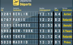Grève : les compagnies aériennes adaptent leur programme de vols